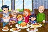 Пазл для семейного ужина Family Dinner Jigsaw