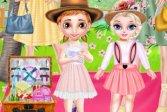 Семейный цветочный пикник принцесс Princess Family Flower Picnic