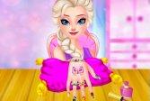 Маникюрный салон принцессы ледяной королевы Ice Queen Princess Nails Salon