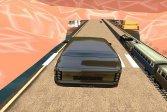 Поезд против гоночной игры Train vs Super Car Racing Game