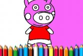 Раскраска Свинья BTS BTS Pig Coloring Game