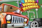 Гараж для детской автомойки для мальчиков Kids Car Wash Garage for Boys