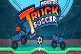 Поднимитесь по футболу на монстр-траках Monster Truck Soccer Climb