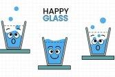 УЛЫБКА ДЛЯ ВОДЫ SMILING WATER GLASS