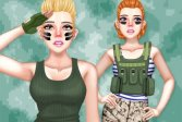 Принцесса Военная Мода Princess Military Fashion