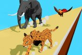 Преобразование животных в гонку 3D Animal Transform Race 3D