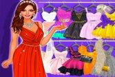 Девушка одевается и макияж Торговый центр Girl Dress Up and Make Up Mall Shopping