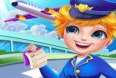 Менеджер аэропорта: Приключенческие игры про самолеты онлайн Airport Manager : Adventure Airplane Games online