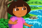 Дора исследовательница слайд Dora the Explorer Slide