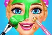 Спа-день визажиста: Игры для девочек в салоне макияжа Spa Day Makeup Artist: Makeover Salon Girl Games