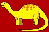 Пазл с милыми динозаврами Cute Dinosuars Jigsaw