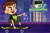 Бен 10 скейтбординг Ben 10 Skateboarding