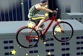 Велосипедные трюки на крыше Bike Stunts of Roof