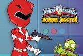 Могучие рейнджеры стреляют в зомби Power Rangers Shoot Zombies