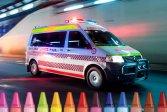 Раскраска Скорая Помощь Ambulance Coloring