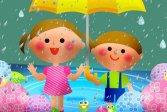 Детский пазл дождливый день Kids Rainy Day Puzzle