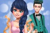 Пунктирная свадьба для девочек Dotted Girl Wedding