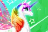 Переодень единорога Dress Up Unicorn