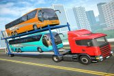 Городской автобус Транспорт Грузовик Бесплатные Транспортные Игры City Bus Transport Truck Free Transport Games