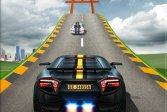 Невозможные автомобильные трюки - мега автомобильная рампа Impossible Car Stunts - Mega Car Ramp