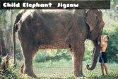 Пазл Детский слон Child Elephant Jigsaw