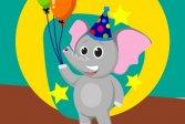 Головоломка в стиле забавного слона Funny Elephant Style Jigsaw