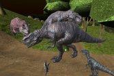 Полуночная многопользовательская охота на динозавров Midnight multiplayer dinosaur hunt