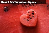 Пазл Сердце Арбуз Heart Watermelon Jigsaw