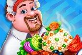 Шеф-повар Street Food Master Street Food Master Chef