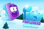 Ледяная пурпурная голова Icy Purple Head