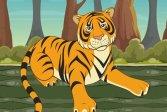 Головоломка с тигром Tiger Jigsaw