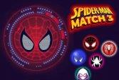 Человек-паук: три в ряд: головоломка Spiderman Match 3 Puzzle