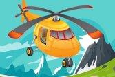 Пазл с вертолетом Helicopter Jigsaw