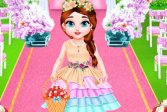 Бэби Тейлор на свадьбе, цветочница Baby Taylor Wedding Flower Girl