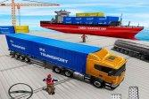 Грузовой транспорт Вождение грузовика Cargo Transport Truck Driving