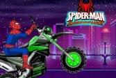 Человек-Паук Мото Гонщик Spiderman Moto Racer
