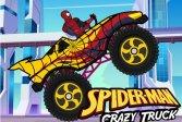 Сумасшедший грузовик Человека-паука Spiderman Crazy Truck