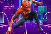 Человек-паук, защищающий город от зомби Spiderman Defense City From Zombies