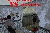 Джефф Убийца VS Слендрина Jeff The Killer VS Slendrina