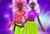 Невероятные весенние неоновые прически принцессы Princess Incredible Spring Neon Hairstyles