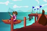 Лодка девушка побег Boat Girl Escape