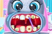 Уход за зубами малыша бегемота Baby Hippo Dental Care