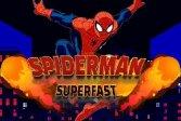 Человек-паук бегает супер быстро Spiderman Run Super Fast