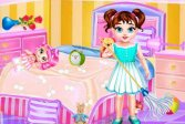 Малышка Тейлор убирается в грязном доме Baby Taylor Messy Home Clean Up