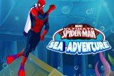 Морское Приключение Человека-Паука - Игра Вытягивания Таблетки Spiderman Sea Adventure - Pill Pull Game
