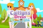Одевалка Кейтлин: школьное издание Caitlyn Dress Up : School Edition