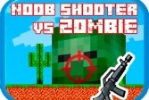Нуб-шутер против зомби Noob shooter vs Zombie