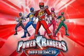 Найди отличия - Игра Find the Differences - Power Rangers Spot Game