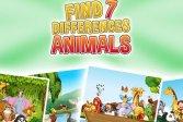 Найди 7 отличий - Животные Find 7 Differences - Animals