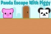 Побег панды с поросенком Panda Escape With Piggy